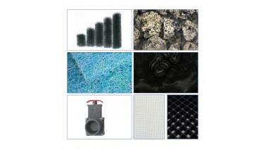 Füllpaket für Reihenfilter 3-Kammer